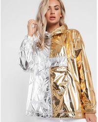 Nike - Sportswear Metallic Jacket - Lyst