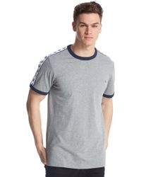 Fred Perry - Sports Authentic T-shirt In Grey - Lyst