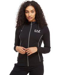 EA7 - Full Zip Hoodie - Lyst