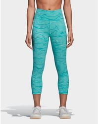 adidas - Ultimate High Rise 3/4 Tights - Lyst