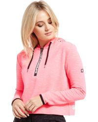 Superdry | Sport Gym Tech Cropped Hoodie | Lyst