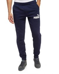 PUMA - Core Logo Pants - Lyst