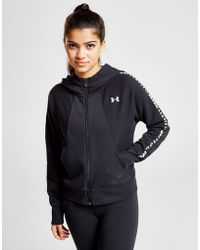 Under Armour - Ottoman Full Zip Hoodie - Lyst
