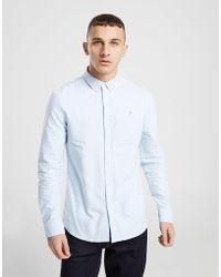 Farah - Brewer Long Sleeve Oxford Shirt - Lyst