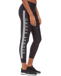 Under Armour - Panel Cropped Leggings - Lyst