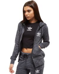 adidas Originals - Premium Spacedye Full Zip Hoodie - Lyst