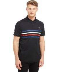 Lacoste - Central 4 Lines Polo Shirt - Lyst