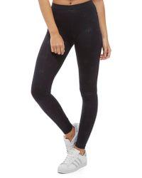 Adidas Originals | All Over Print Trefoil Leggings | Lyst