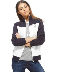 Fred Perry - Colour Block Track Top - Lyst