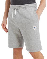 Converse - Chuck Fleece Shorts - Lyst