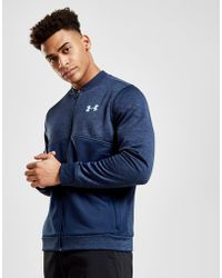 Under Armour - Fleece Track Jacket - Lyst