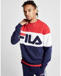 Fila - Jacob Crew Sweatshirt - Lyst