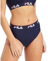 Fila - Tape Bikini Bottoms - Lyst
