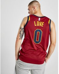 Nike Nba Cleveland Cavaliers Swingman Love #0 Jersey - Red