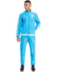 adidas - Olympique De Marseille Presentation Suit - Lyst