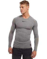 Nike - Pro Long Sleeve Compression T-shirt - Lyst