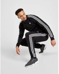 adidas - 3-stripes Poly Track Trousers - Lyst