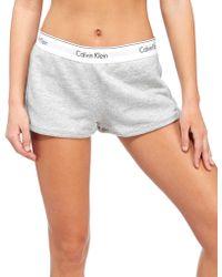 CALVIN KLEIN 205W39NYC - Modern Fleece Shorts - Lyst