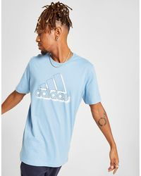 8a0ed2af adidas Originals Originals Tnt Tape T-shirt in Yellow for Men - Lyst