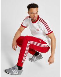 adidas - Superstar Cuffed Track Pants - Lyst