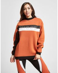Nicce London - Colour Block Panel Crew Sweatshirt - Lyst