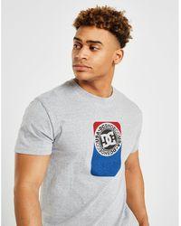 DC Shoes - Dual Large Box T-shirt - Lyst