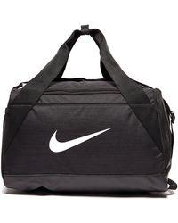 cb56266dd4 Lyst - Nike Brasilia 6 (extra Small) Duffel Bag (black) in Black for Men