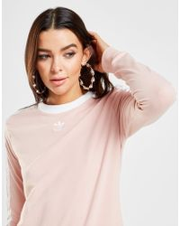 adidas Originals - 3-stripes Long Sleeve California T-shirt - Lyst