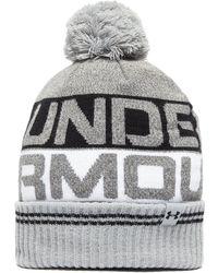 Under Armour - Retro Pom 2.0 Beanie Hat - Lyst
