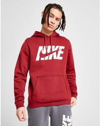 553fc5556 Nike Goat Overhead Hoodie in White for Men - Lyst