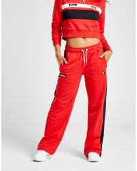 Ellesse - Panel Wide Leg Pants - Lyst
