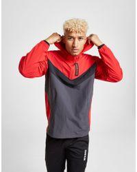 Calvin Klein - Performance 1/2 Zip Woven Jacket - Lyst