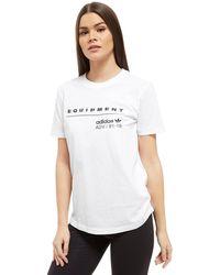 Adidas Originals   Eqt T-shirt   Lyst