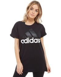 adidas - Essentials Linear Loose T-shirt - Lyst
