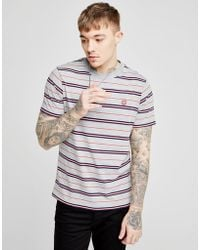 Franklin & Marshall - Stripe T-shirt - Lyst