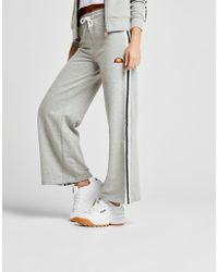 Ellesse - Stripe Wide Leg Pants - Lyst