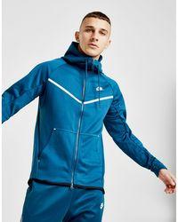 17fc567f56ea Lyst - Nike Tech Fleece Windrunner Full Zip Hoodie in Pink for Men