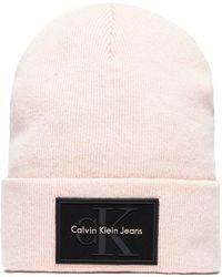 Calvin Klein - Re-issue Beanie - Lyst