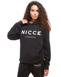 Nicce London - Oversized Boyfriend Hoodie - Lyst