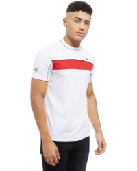 Lacoste - Djokovic Colourblock Tech T-shirt - Lyst