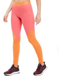 adidas - Climacool Logo Long Tights - Lyst