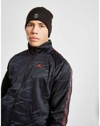 4c3c75054ec46 Nike Jordan X Paris Saint-germain Beanie in Black for Men - Lyst