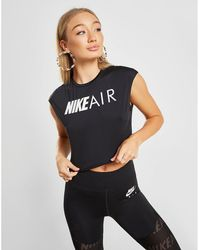 4ba00cfb9c3d7 Nike - Running Air Crop T-shirt - Lyst