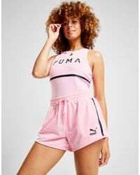 PUMA - Stripe Shorts - Lyst