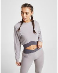 South Beach - Crossover Long Sleeve Top - Lyst