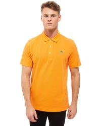 Lacoste - Alligator Short Sleeve Polo Shirt - Lyst