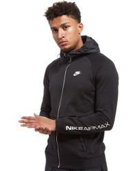d0d54e1de0 Lyst - Nike Air Max Full Zip Hoody in Black for Men