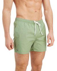 Lacoste - Core Swim Shorts - Lyst