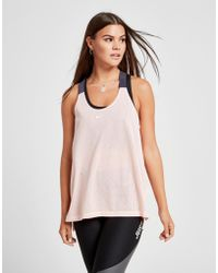 Nike - Training Elastika Mesh Tank Top - Lyst