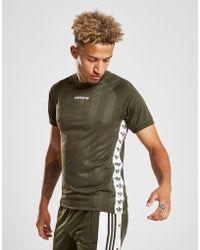 adidas Originals - Tape Poly T-shirt - Lyst